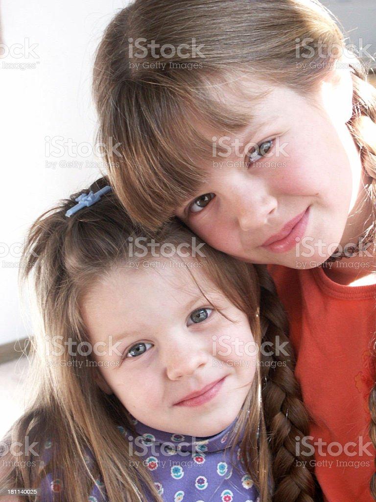 Sisterly Love royalty-free stock photo