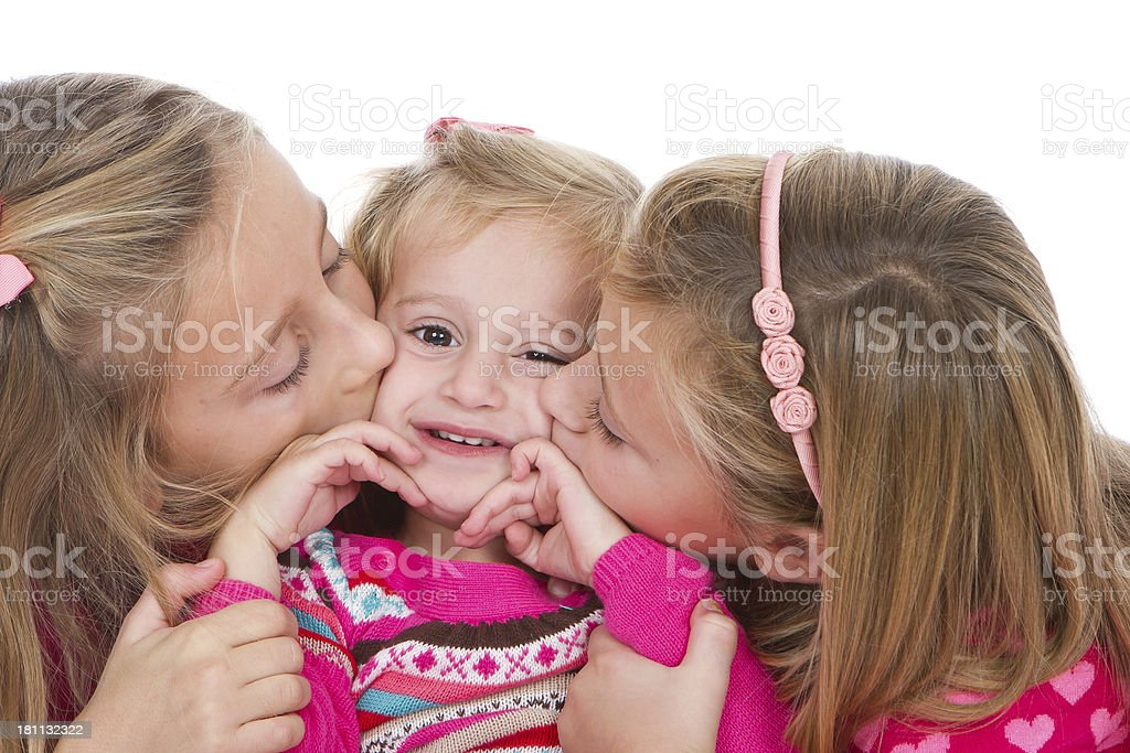 Sister's love royalty-free stock photo