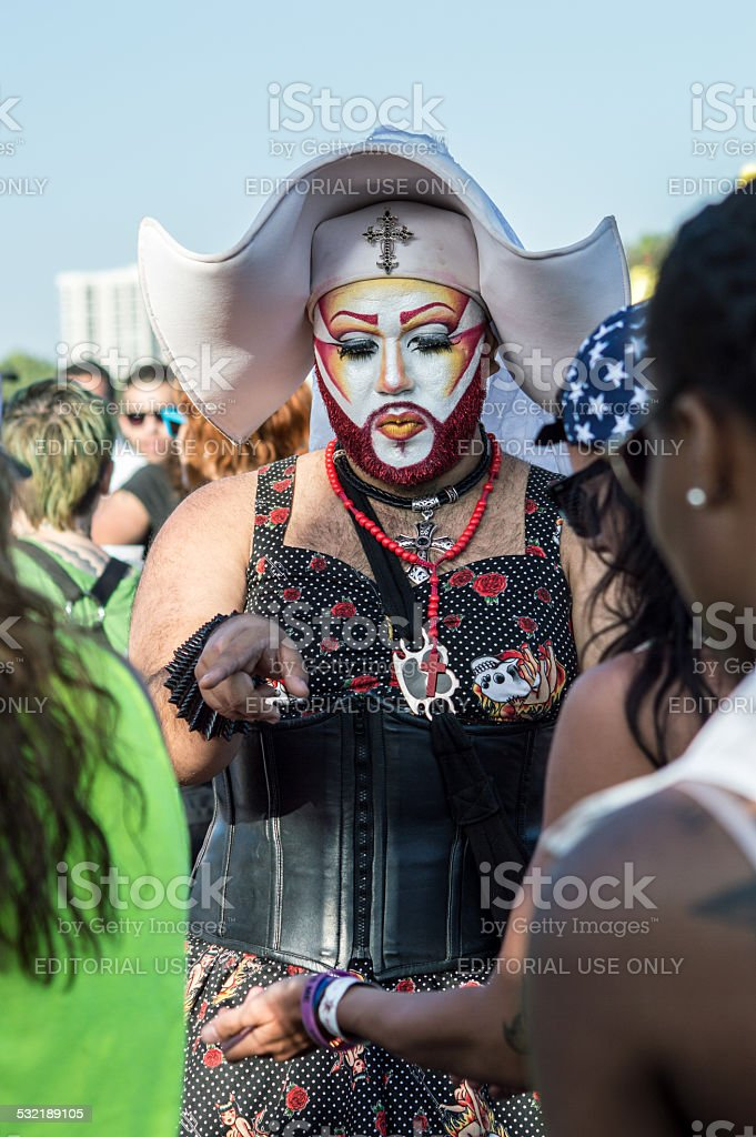 Sisters of Perpetual Indulgence stock photo