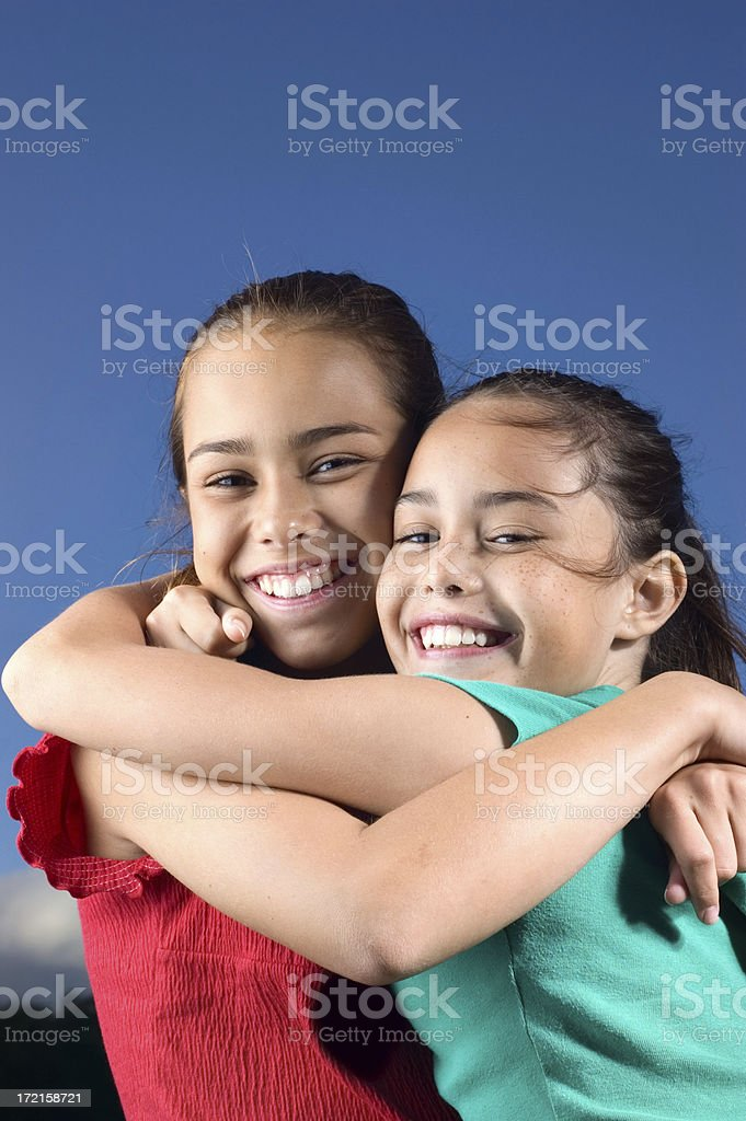 Sisters royalty-free stock photo
