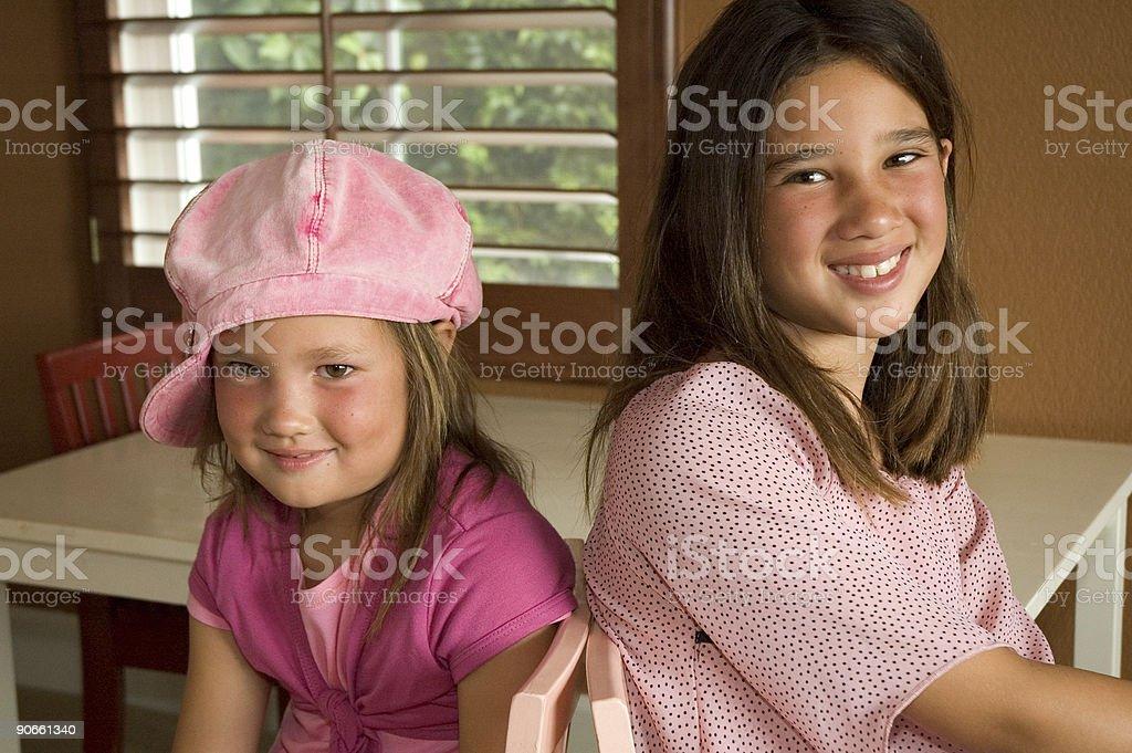 Sisters foto stock royalty-free