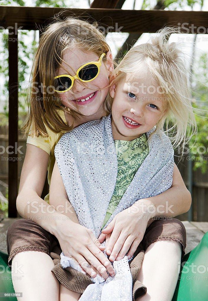 Sisters Lizenzfreies stock-foto