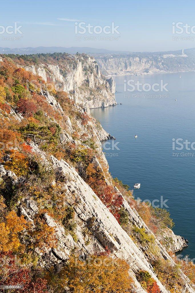 Sistiana Bay,  Duino, Trieste stock photo