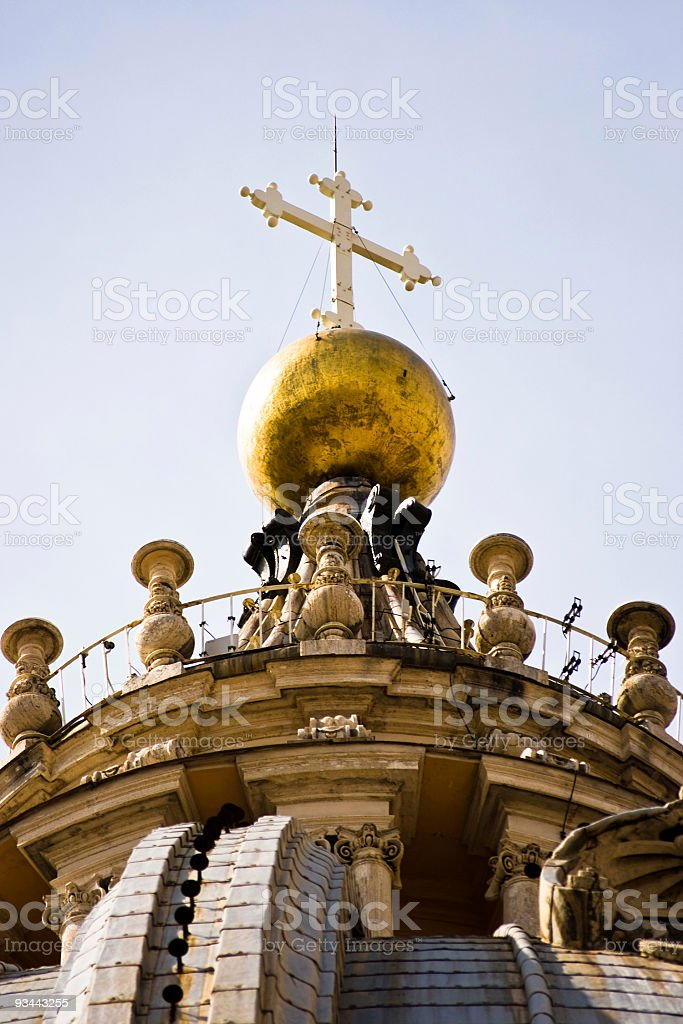 Sistine Chapel royalty-free stock photo