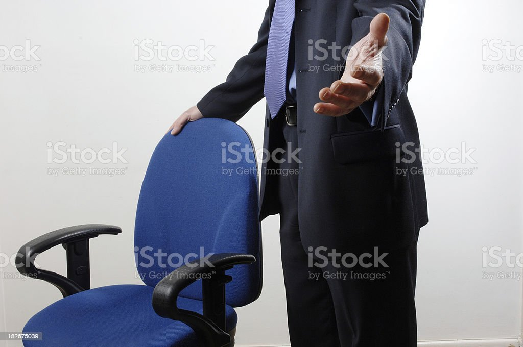 Sit down royalty-free stock photo