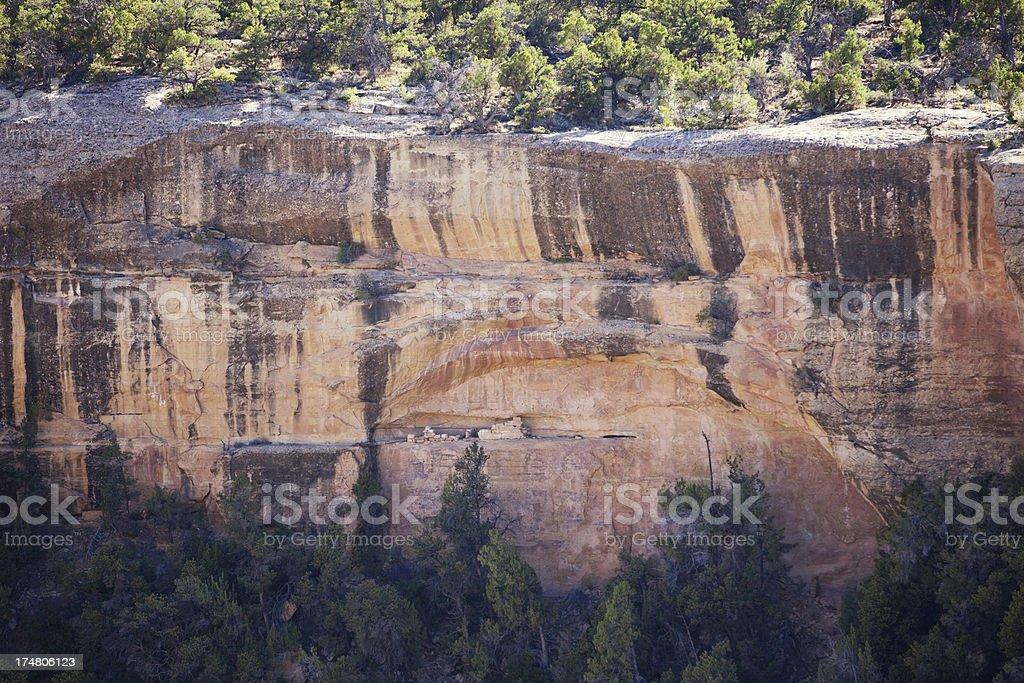 Site 634 Ruins - Mesa Verde National Park, Colorado royalty-free stock photo