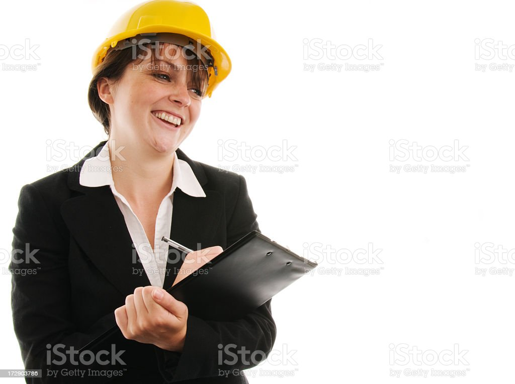 Site Inspector royalty-free stock photo