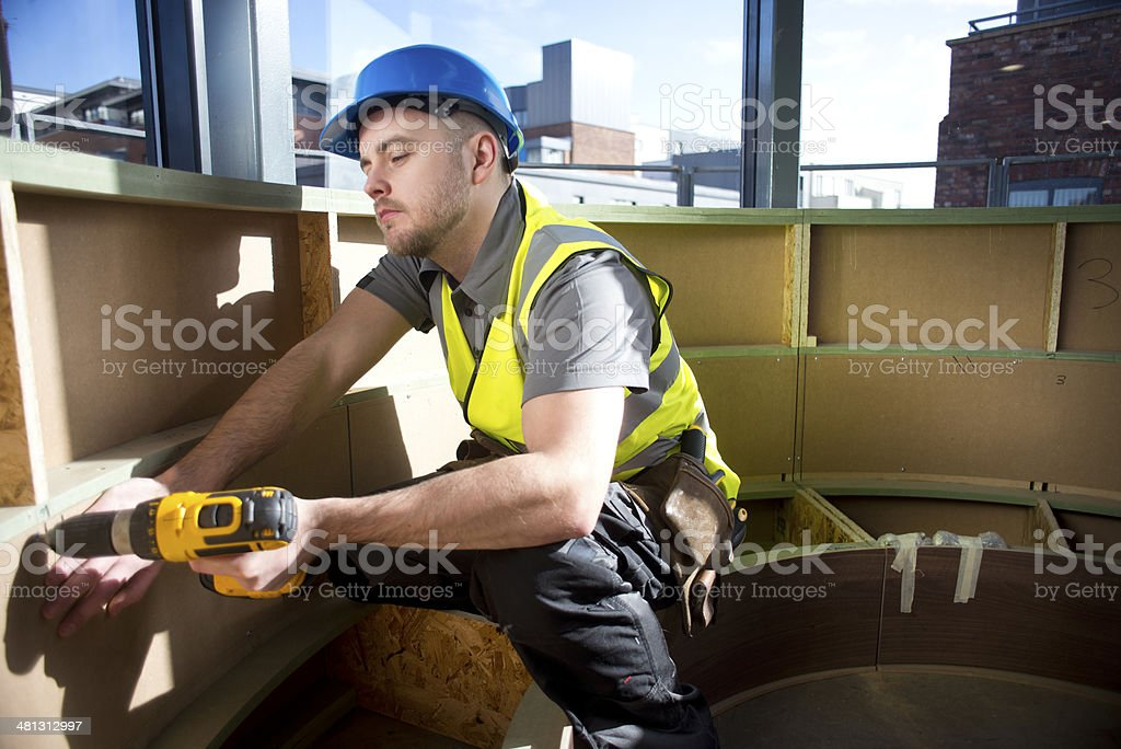 site joiner royalty-free stock photo