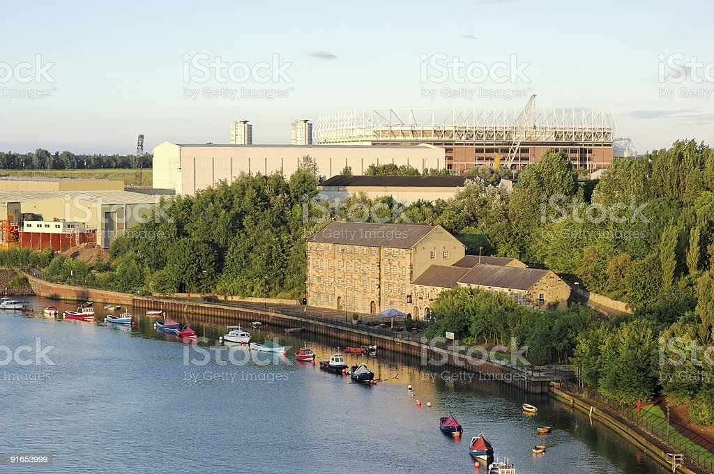 Site of the Historic Websters Ropery stock photo