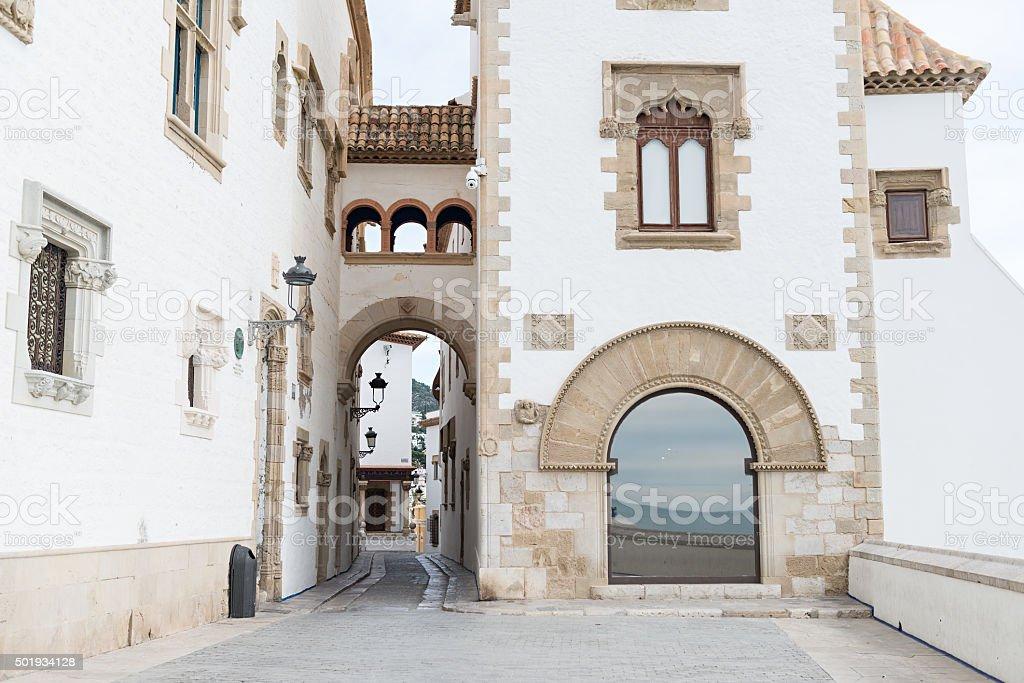 Sitges - Barcelona (Spain) stock photo