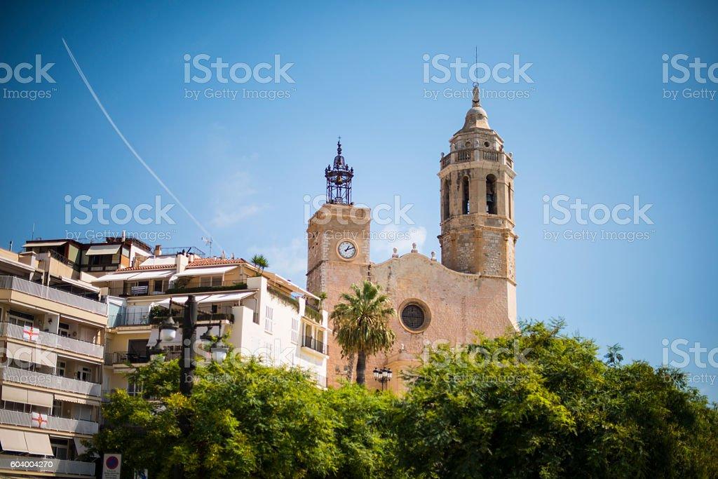 Sitges, Catalunia, Spain stock photo