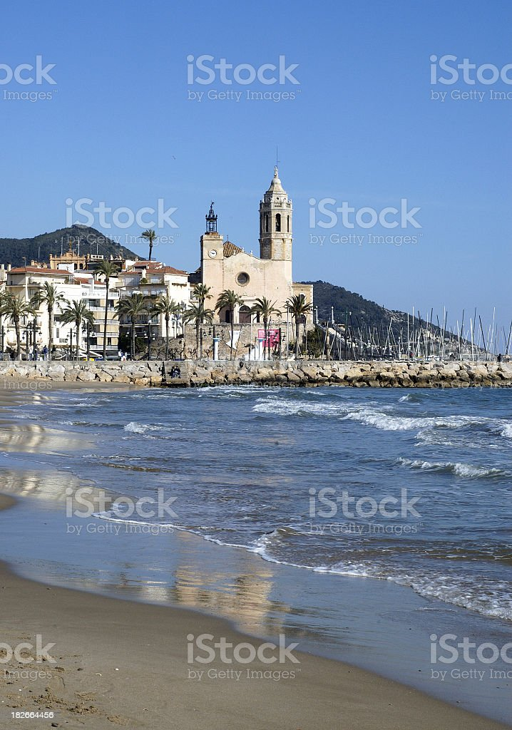 Sitges royalty-free stock photo