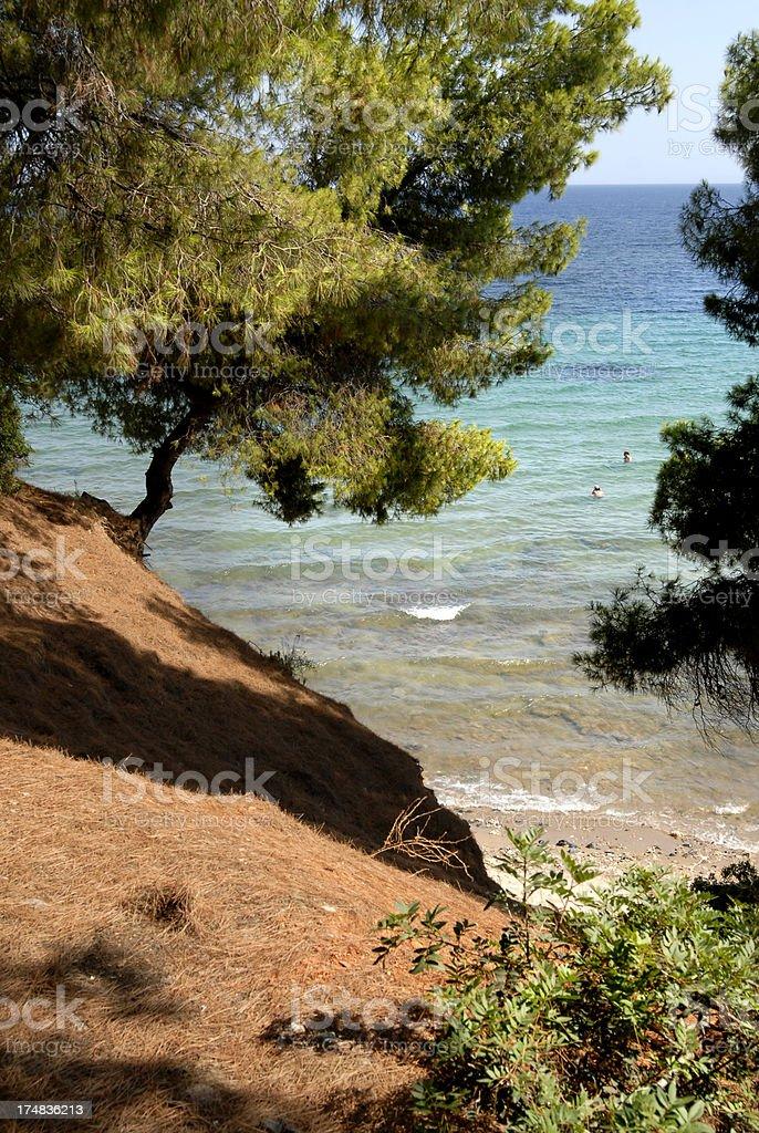 Sithonia, Greece royalty-free stock photo