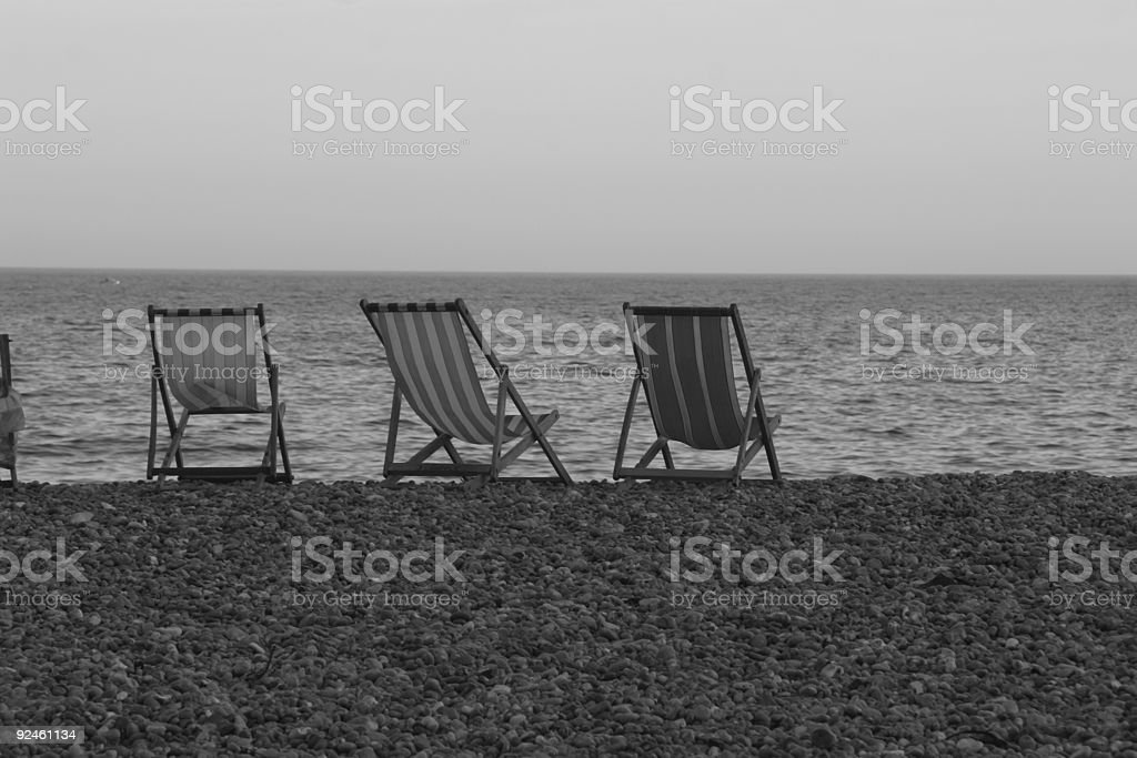 Siting by the Sea royalty-free stock photo
