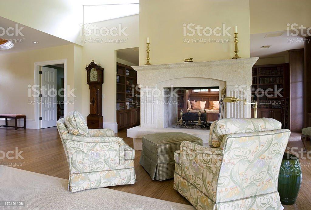 Sitting Area royalty-free stock photo