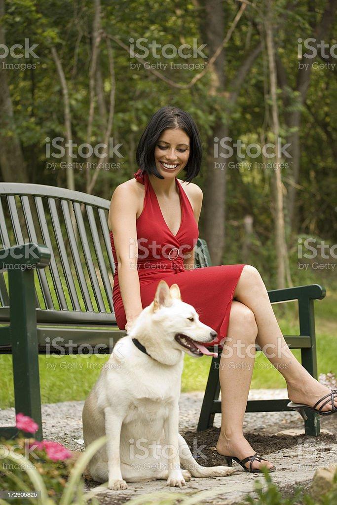 Sitting Pretty stock photo