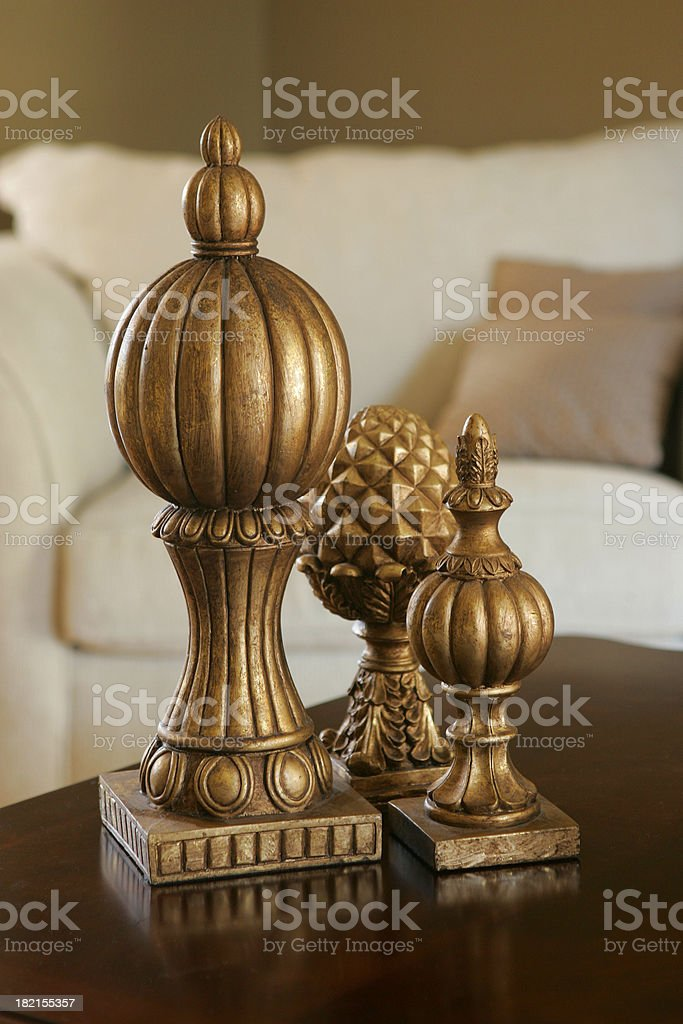 Sitting room details stock photo