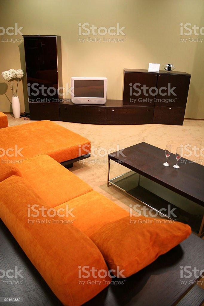 sitting room royalty-free stock photo
