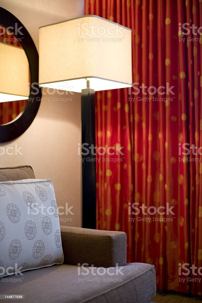 Sitting Space royalty-free stock photo