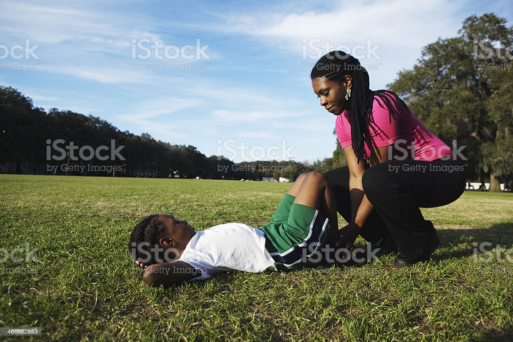 Situps royalty-free stock photo