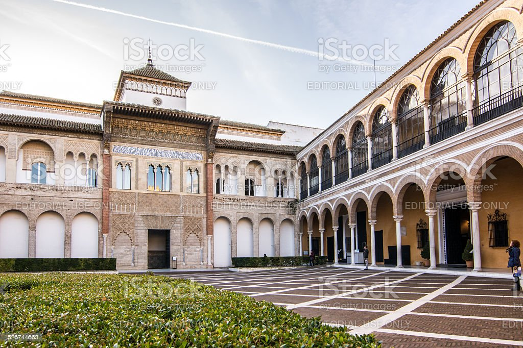 Siviglia, Real Alcazar stock photo