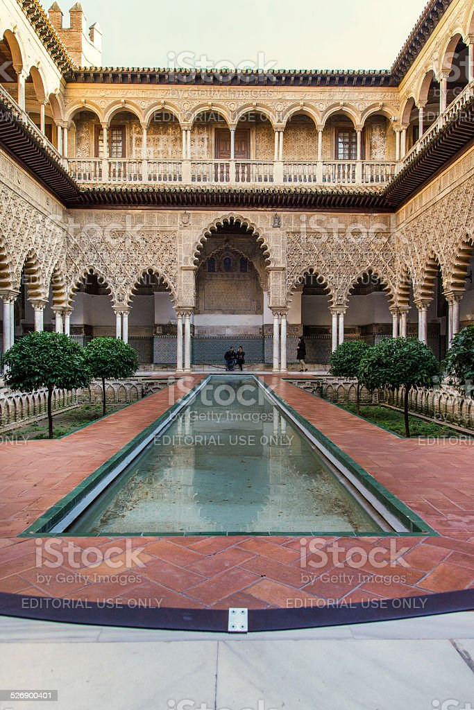 Siviglia, Spagna, Alcazar stock photo