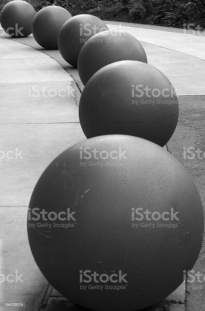 Six Ball Game stock photo