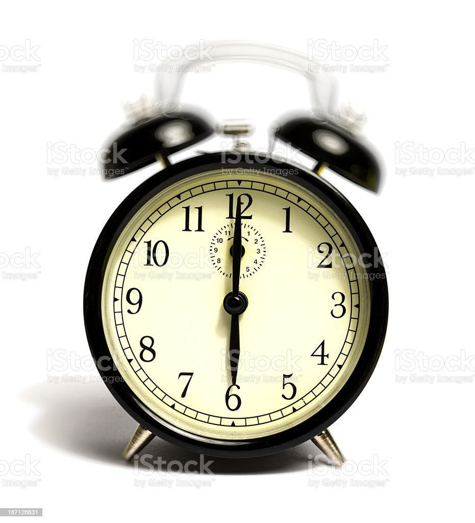 six o'clock ring stock photo
