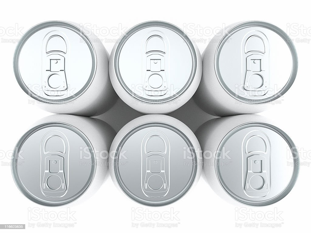 six pack stock photo