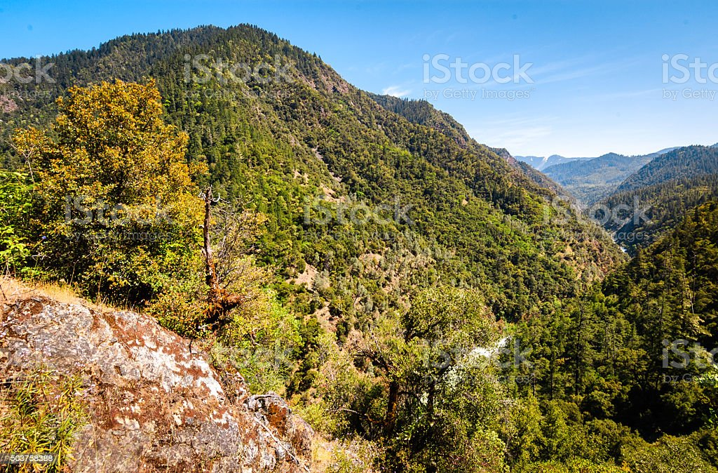 Six Rivers National Forest (Bigfoot Scenic Byway) stock photo