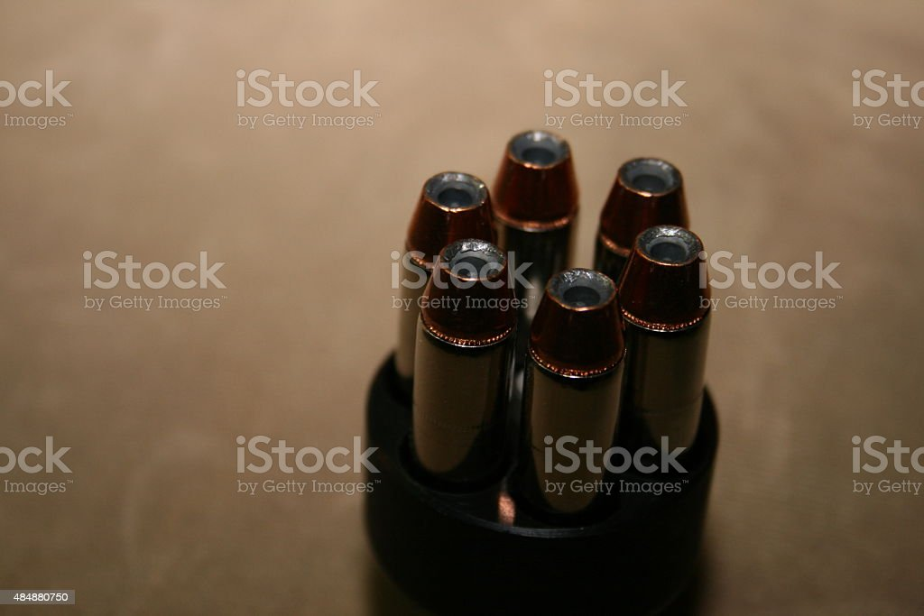 Six Rounds stock photo