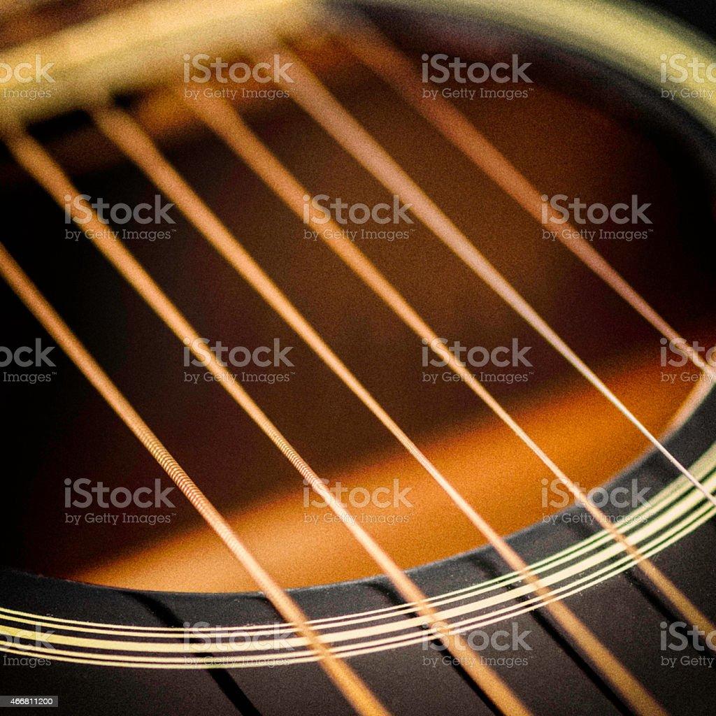 Six String Guitar stock photo