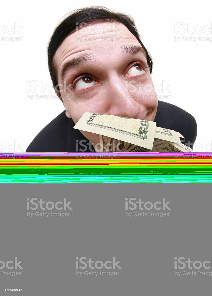 Sixfold approval royalty-free stock photo