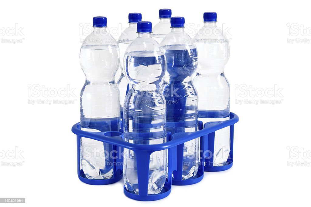 six-pack of soda royalty-free stock photo