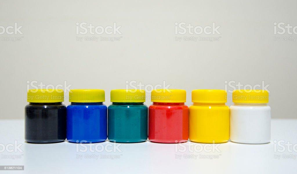 Six-pack stock photo