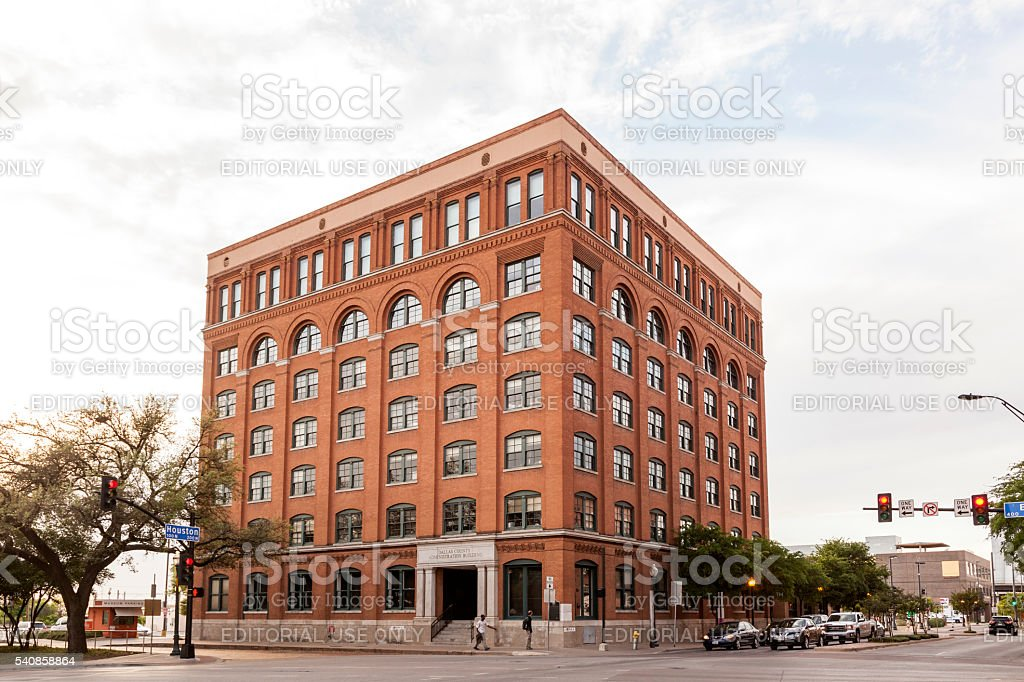 Sixth Floor Museum in Dallas, Texas stock photo