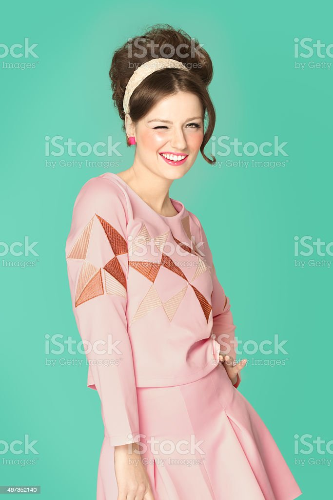 Sixties Fashion stock photo