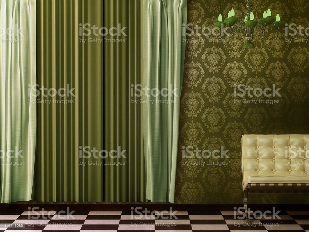 Sixties retro chic. stock photo
