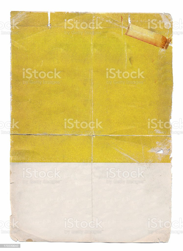 Sixties style Poster royalty-free stock photo