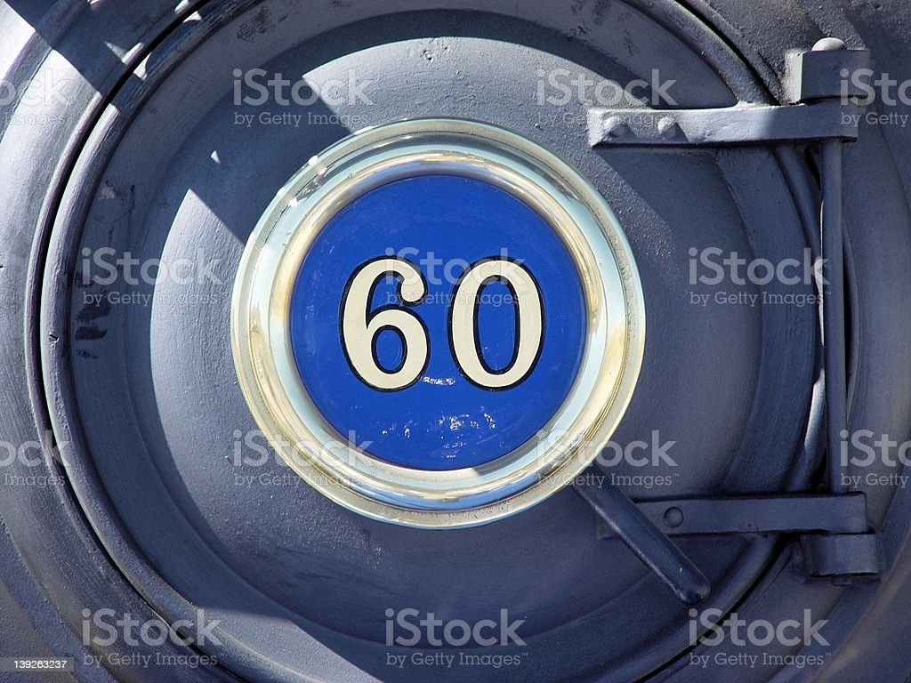 sixty Nose royalty-free stock photo