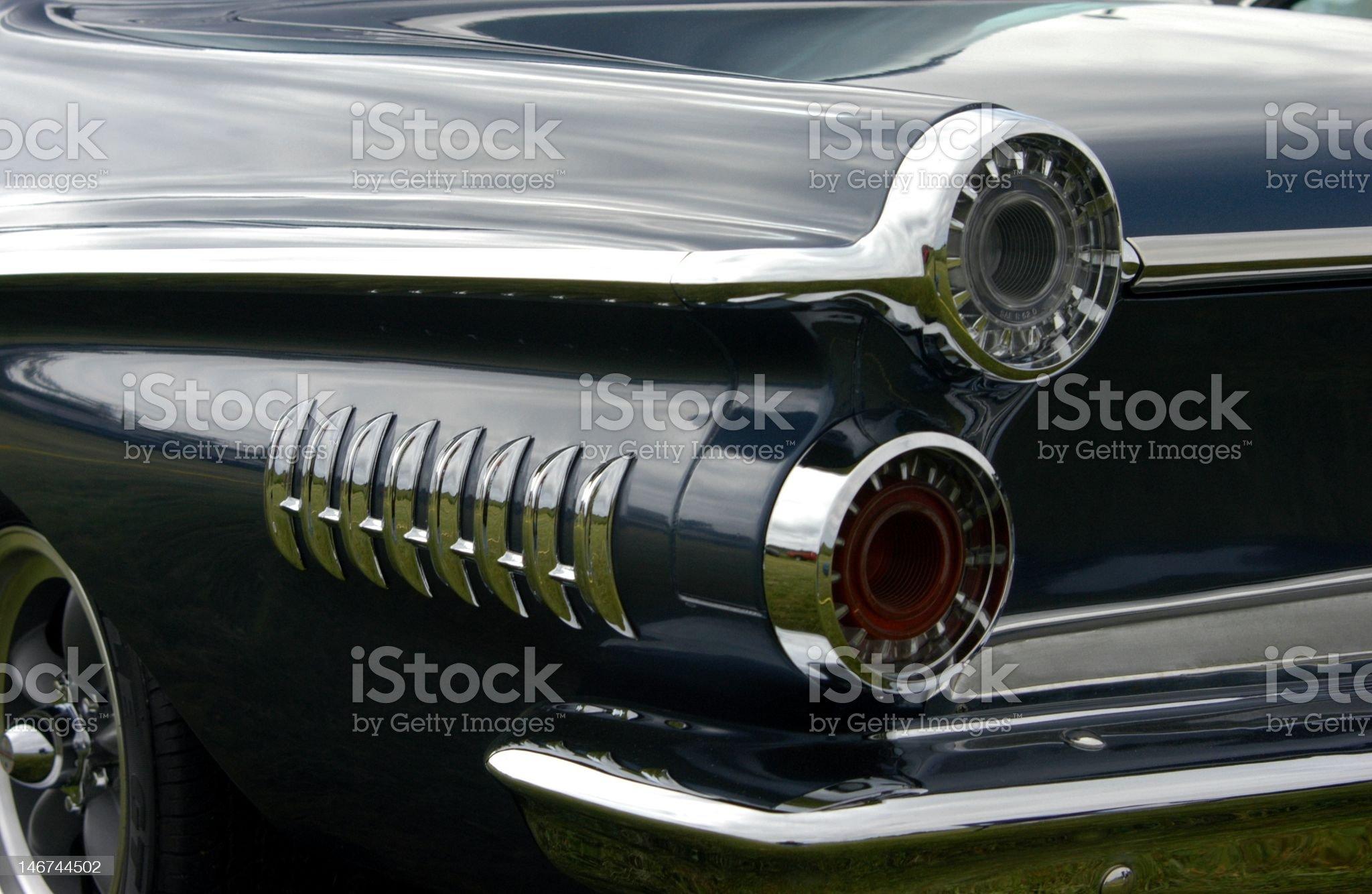 Sixty Two Dodge Dart royalty-free stock photo