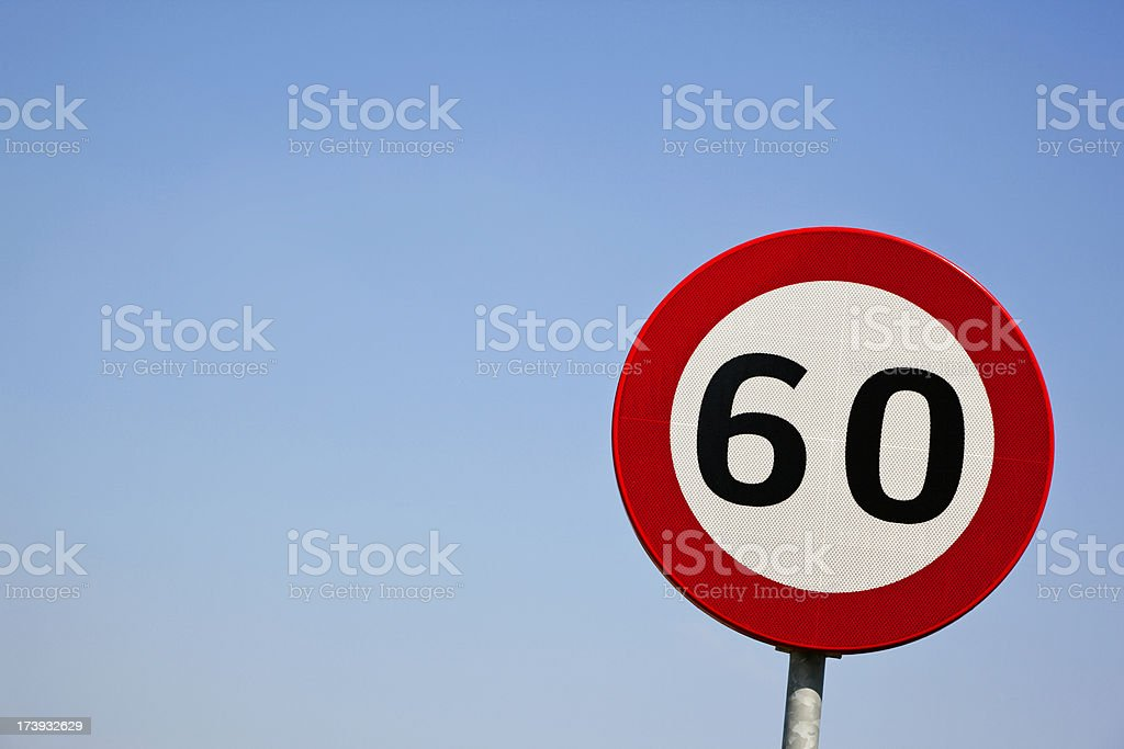 Sixty # 2 XXXL royalty-free stock photo