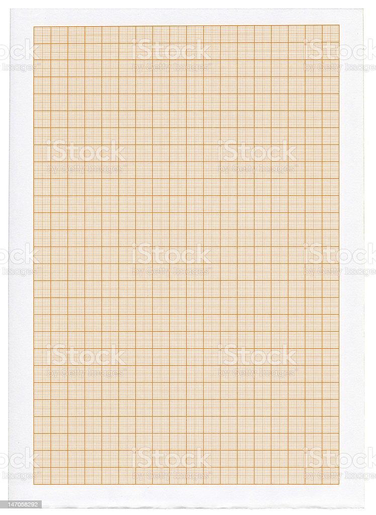 XXXL size graph paper royalty-free stock photo