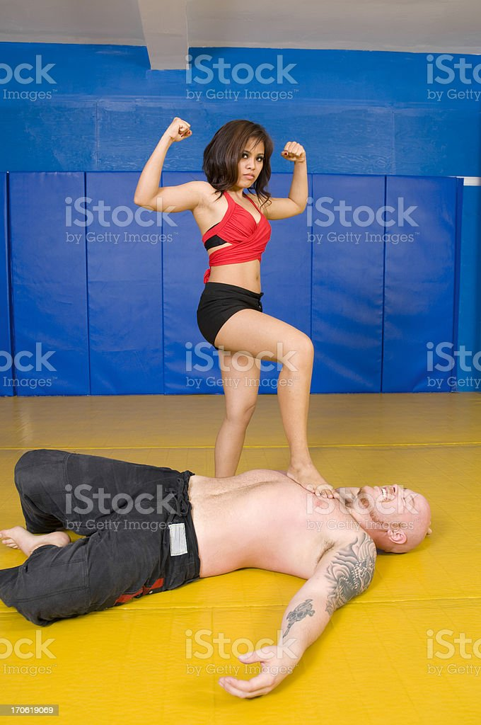 Size matters stock photo