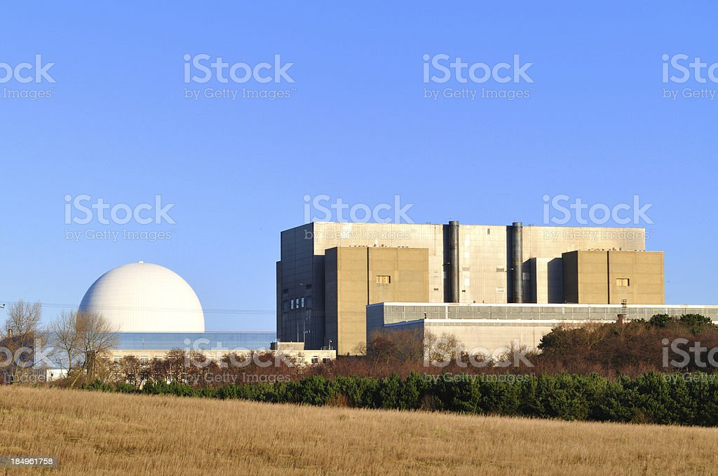Sizewell A and B royalty-free stock photo