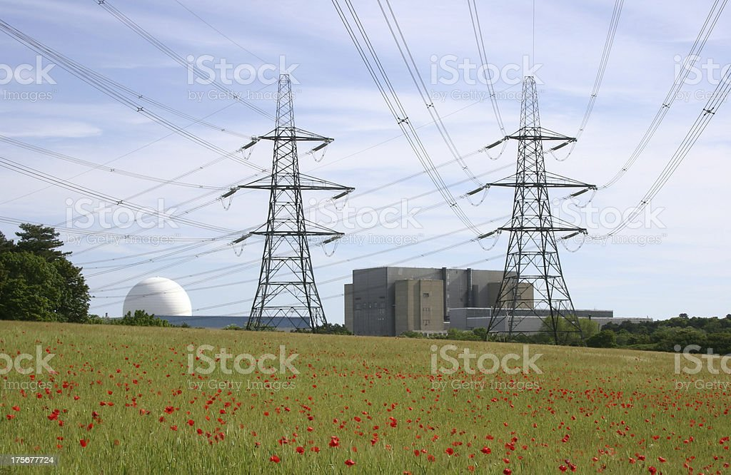 Sizewell A & B royalty-free stock photo