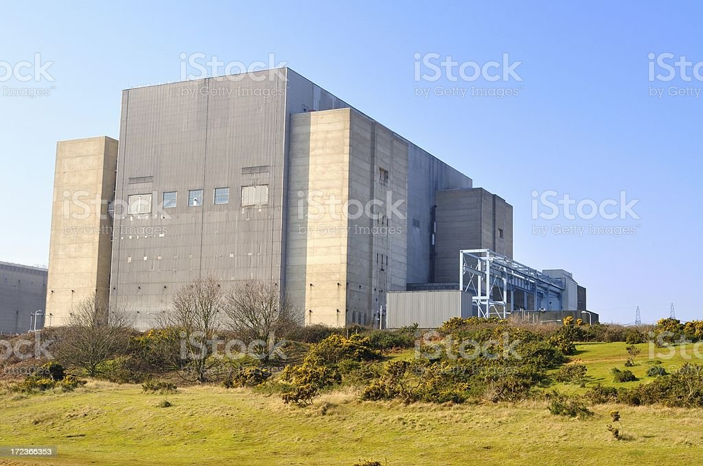 Sizewell A main building stock photo