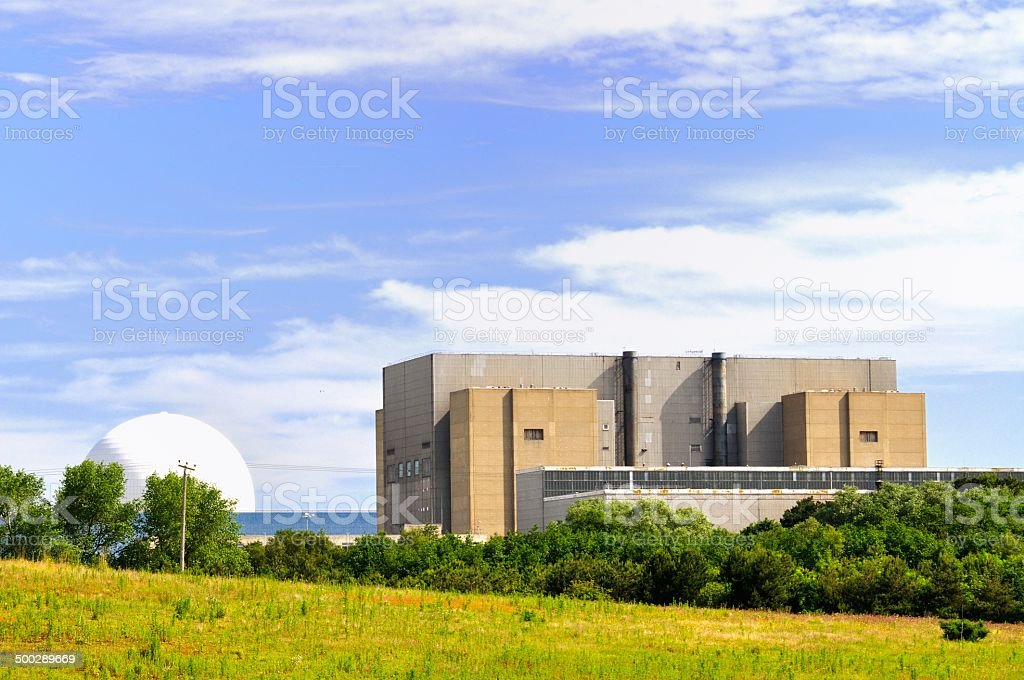 Sizewell A stock photo