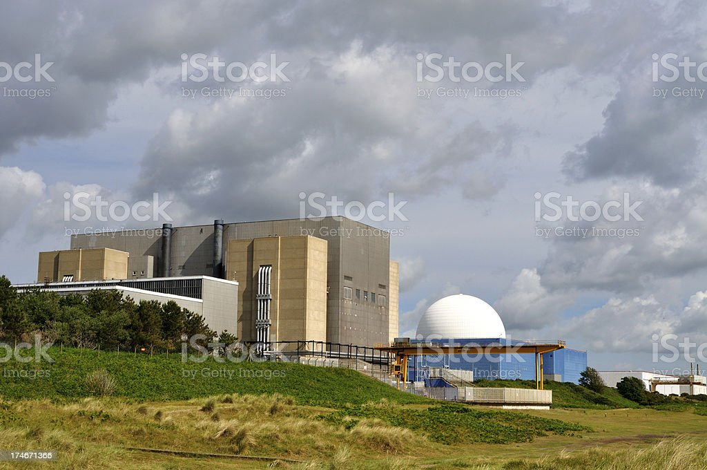 Sizewell B royalty-free stock photo