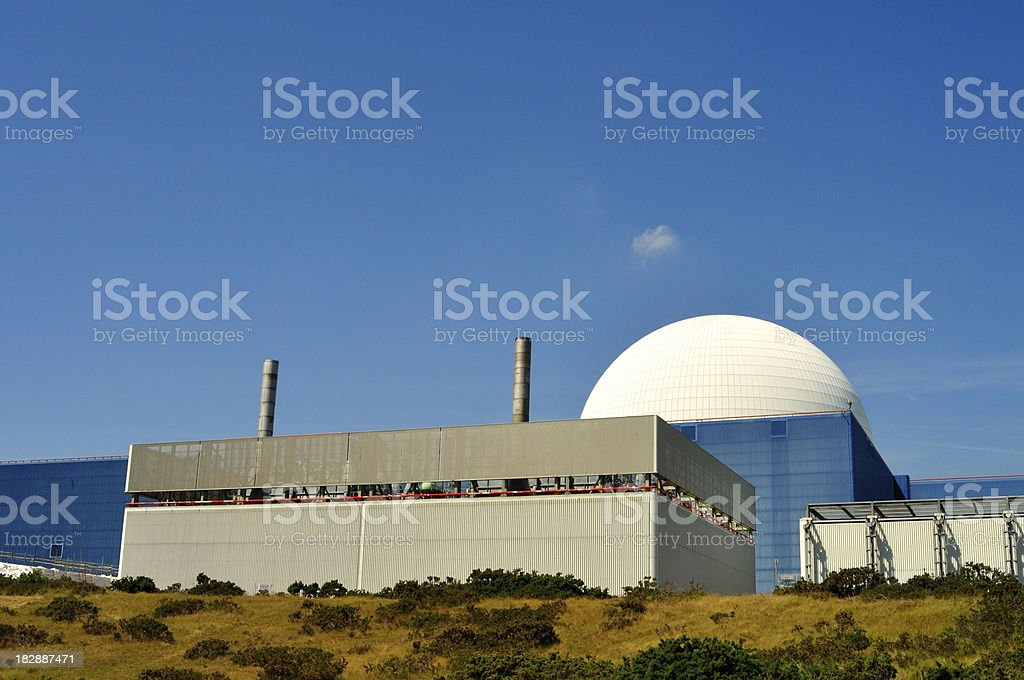 Sizewell dome royalty-free stock photo